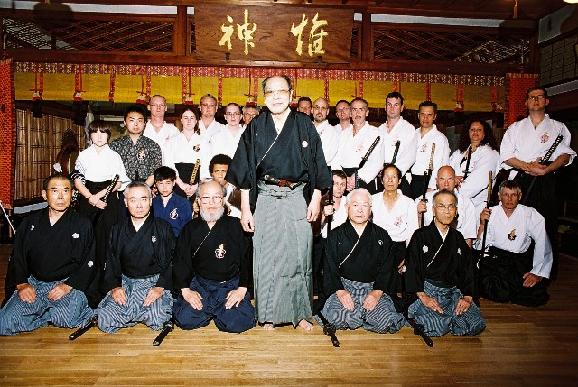 Grand Master and Ou Go Kai 2007